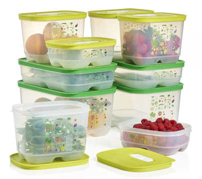Ensemble de 10 contenants Intelli-frais Tupperware